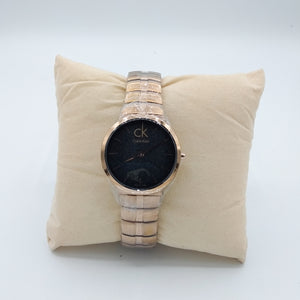Laurel CK Classic Watch For Women (Black Dial)