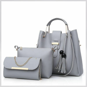 Megan Luke Classic Bag For Women (Ash)