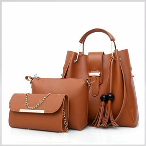 Megan Luke Classic Bag For Women (Brown)