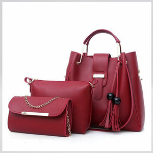 Megan Luke Classic Bag For Women (Red)