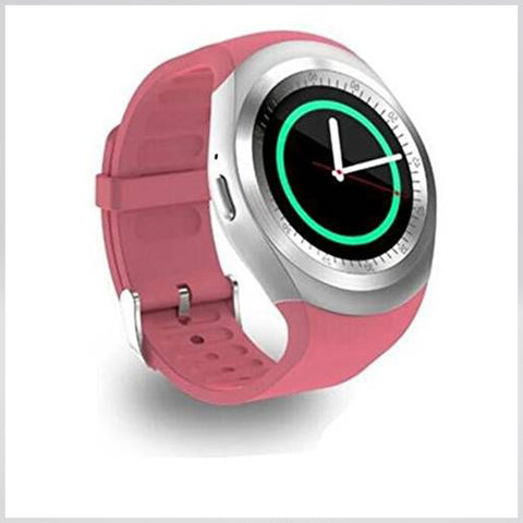 Y1 Bluetooth Smart Watch (Pink)