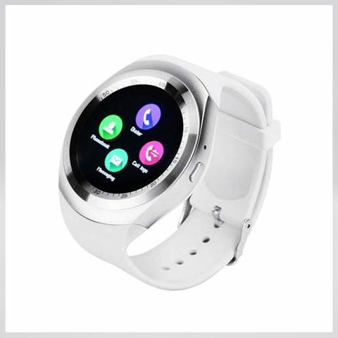 Y1 Bluetooth Smart Watch (White)
