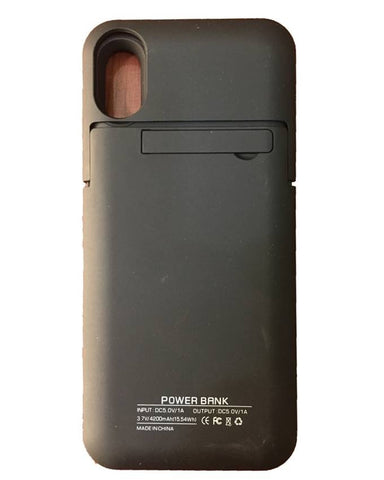 iPhone X Power Bank Case -Black