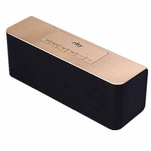 Nby wireless Bluetooth Speaker-Gold