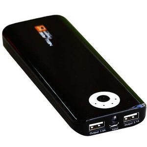 New Age 15600mAh Power Bank -Black