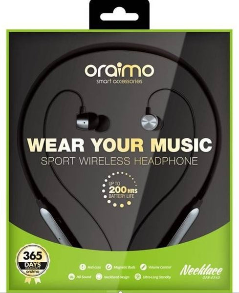 Oraimo Wirless Necklace Headphone OEB-E54D