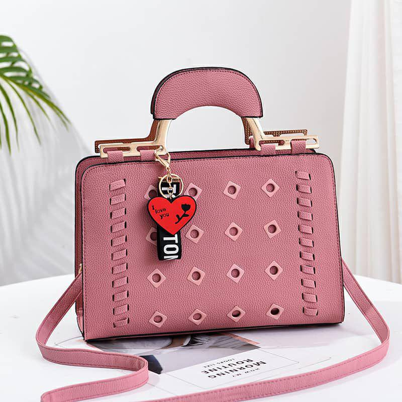 Solene Mila Bag for Women - Pink