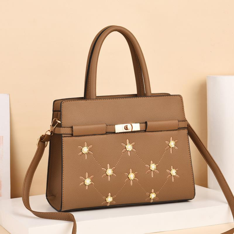 Duchess Rose Bag for Women - Brown