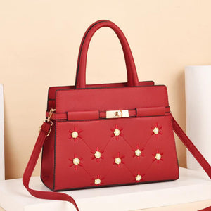 Duchess Rose Bag for Women - Red