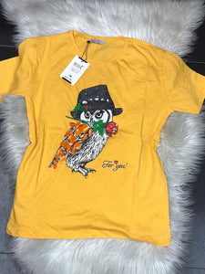 Kira Lady T-Shirt (Yellow)