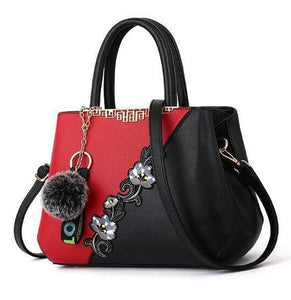 Tina Alex Classic Handbag - Red