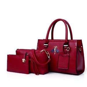 Josie Elise Bag for Women - Wine