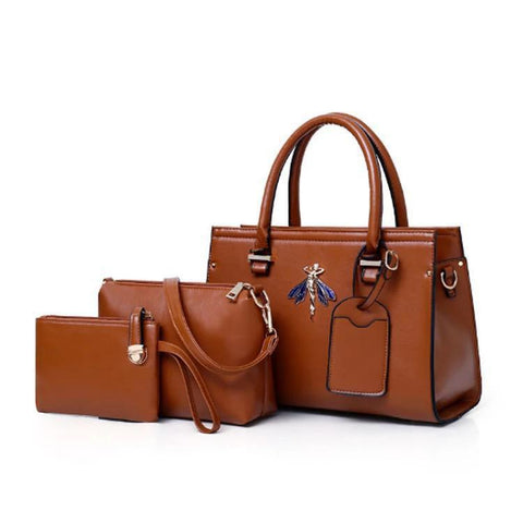 Josie Elise Bag for Women - Brown
