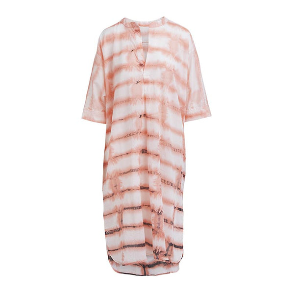 Rabens Saloner Kjole BIRCK SHIRT DRESS - Prinsesse2ben