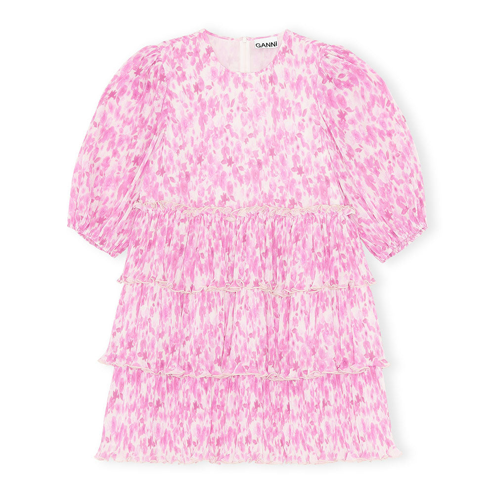 Ganni Kjole Mini Dress - Prinsesse2ben