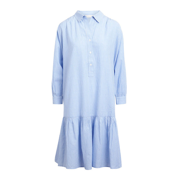 Rabens Saloner Kjole Karly Streak Shirting Dress - Prinsesse2ben