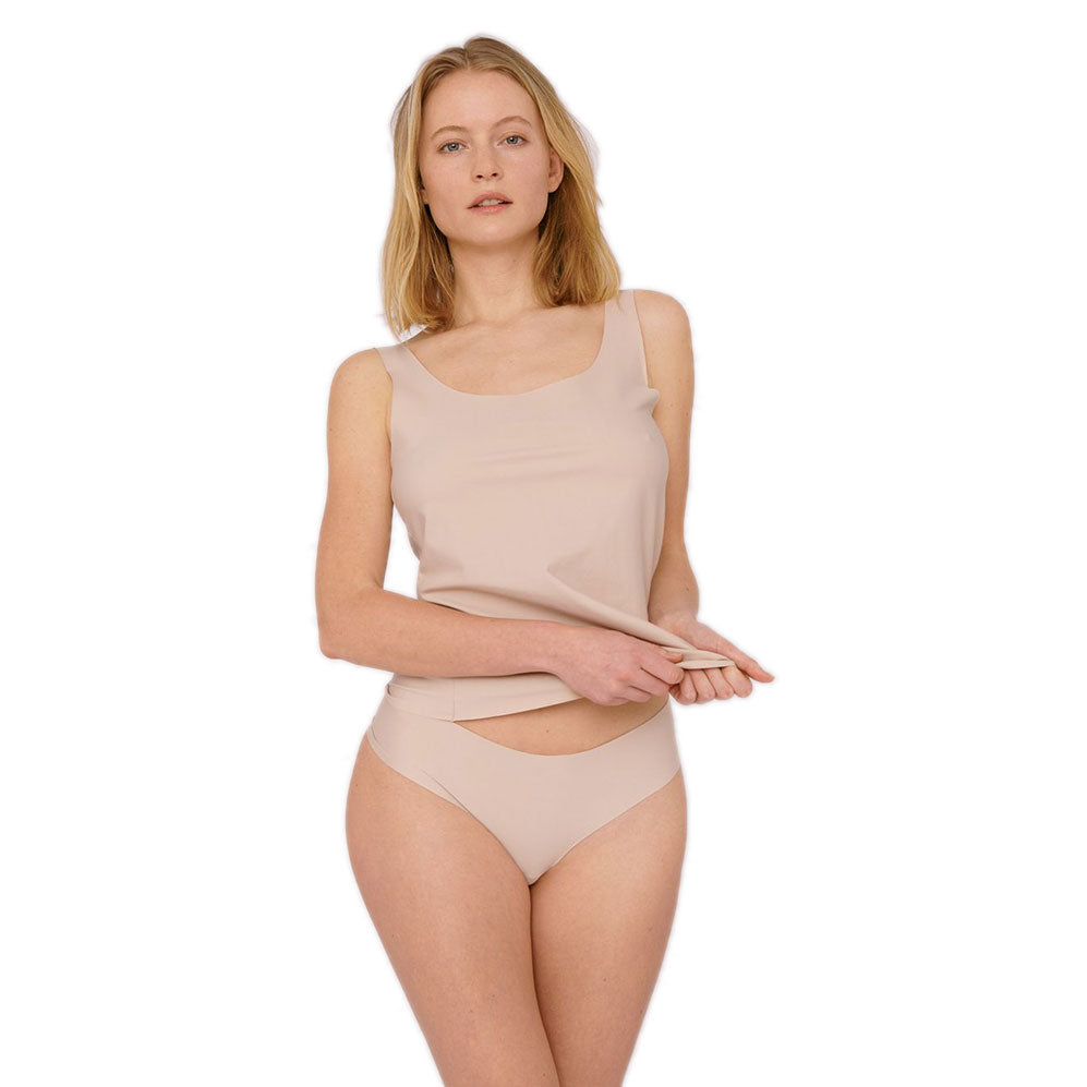 Organic Basics Invisible Cheeky Thong 2-Pack - Prinsesse2ben
