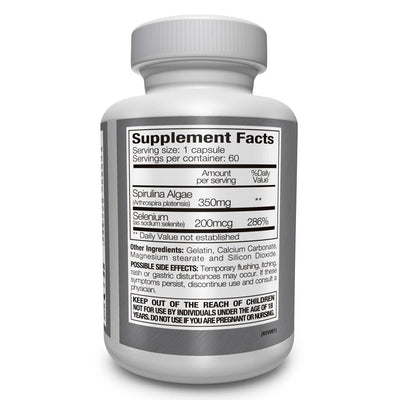 Selenium Spirulina Nutrition Facts