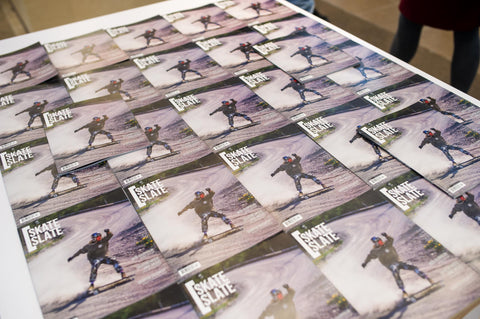 Skate slate magazine launch party
