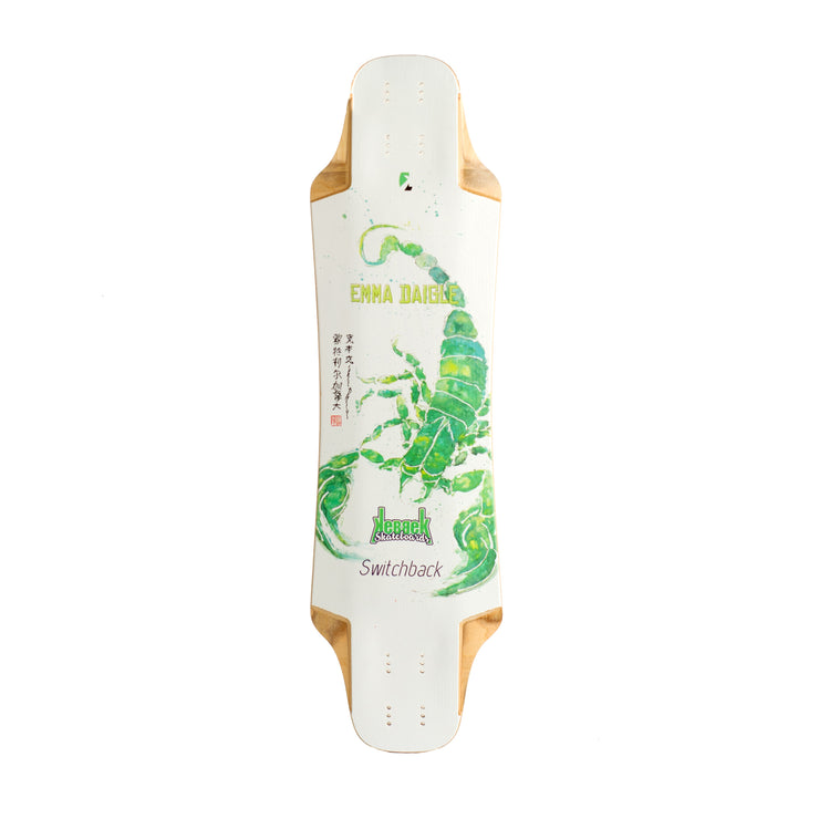 emma daigle pro model - longboard for traveling