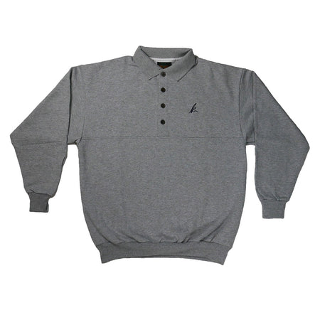 vintage collared sweater - k signature