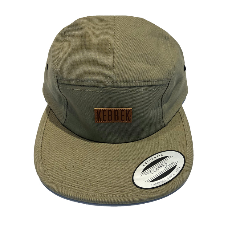 Kebbek - Leather Patch 5 Panel