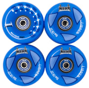 longboard wheels with free bearings