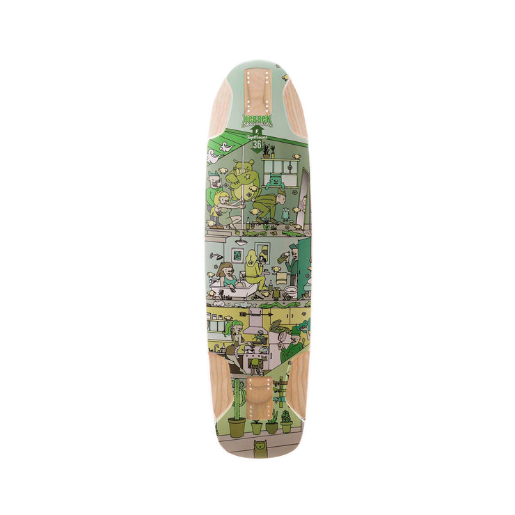Downhill Skateboard - Canadian skateboard - kebbek