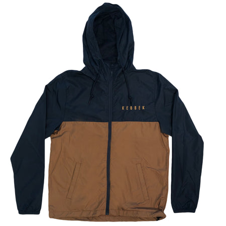 Kebbek - Wind Breaker Navy Brown