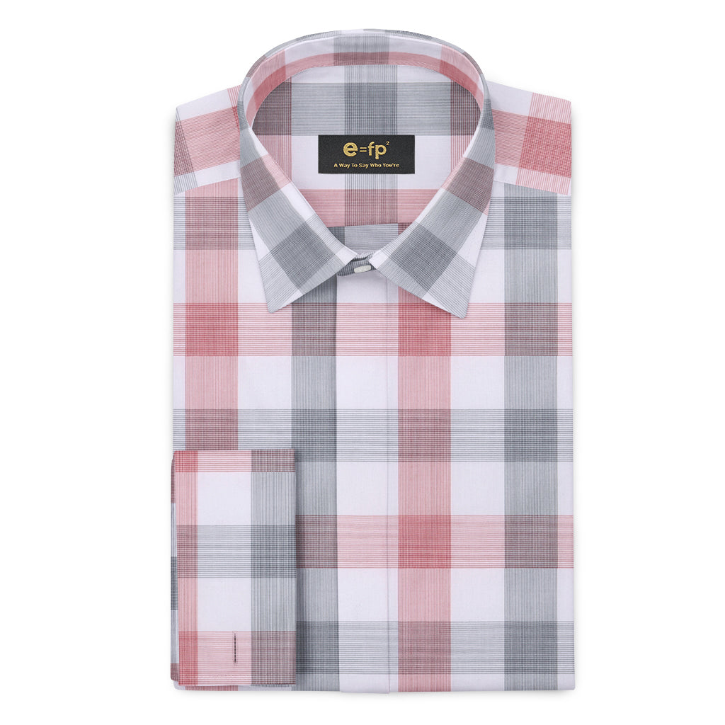 EASY IRON BAMBOO CHECK SHIRT - 3 COLORS