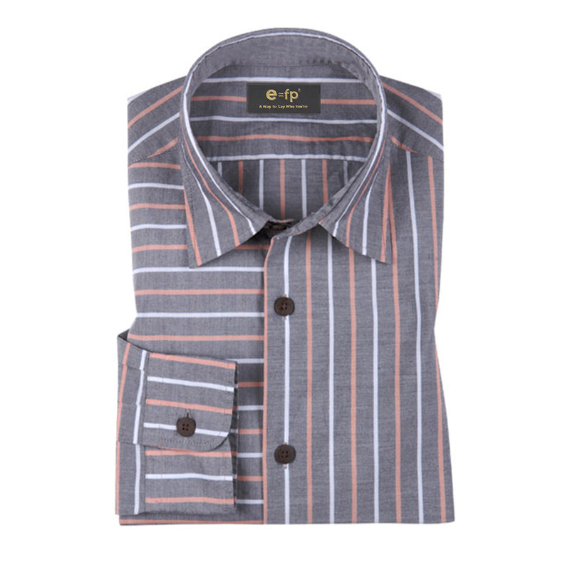 MULTI-COLOR STRIPE SHIRT - 3 COLORS