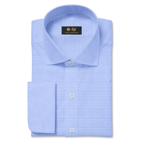 NON-IRON COTTON JACQUARD SHIRT - 3 COLORS