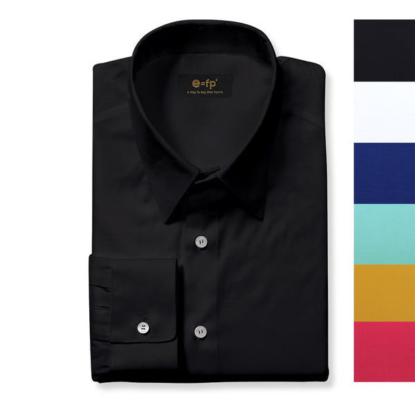 SOLID COLOR STRETCH SHIRT - 6 COLORS