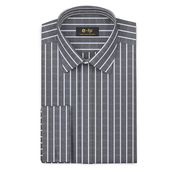 CLASSIC COTTON STRIPE SHIRT - 2 COLORS
