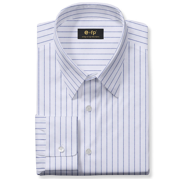 EASY CARE STRIPE SHIRT - 3 COLORS