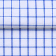 COTTON SMART SHIRT WITH GRID CHECK - 5 COLORS