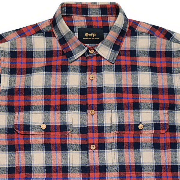 LIGHTWEIGHT FLANNEL CHECK SHIRT