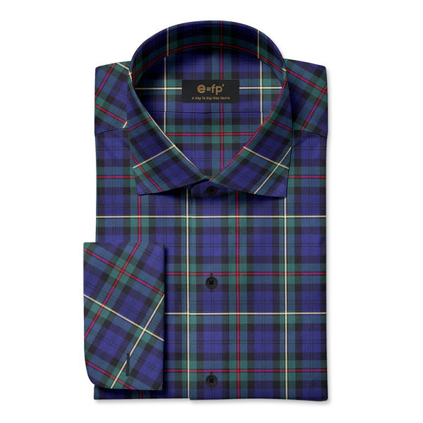 TARTAN CHECK OXFORD SHIRT