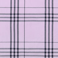 PINK VISCOSE LARGE CHECK SHIRT