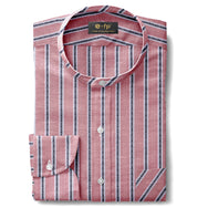 LIGHTWEIGHT STRIPE SHIRT - 4 COLORS
