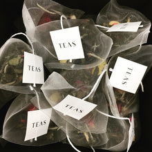 TEAS London UK - Tea Bags - White Tea & Raspberry Rose