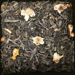 TEAS London UK - Loose Leaf Tea - Green Tea & Peach
