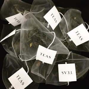 TEAS London UK - Tea Bags - Green Tea & Peach