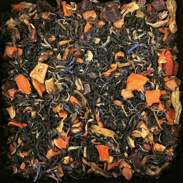 TEAS London UK - Loose Leaf Tea - Black Tea & Rhubarb