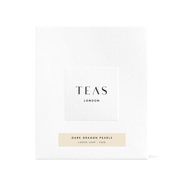 TEAS London UK - Dark Pearl Oolong Tea Box