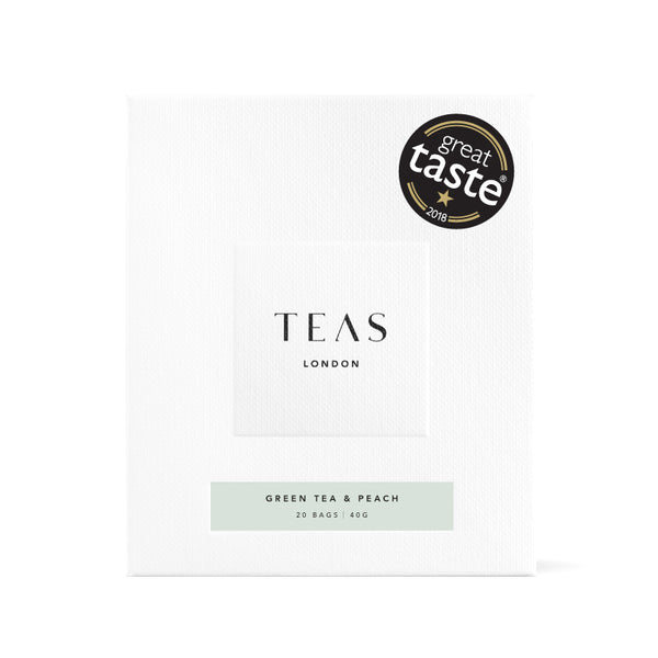 GREEN TEA & PEACH - 20 Tea Bags