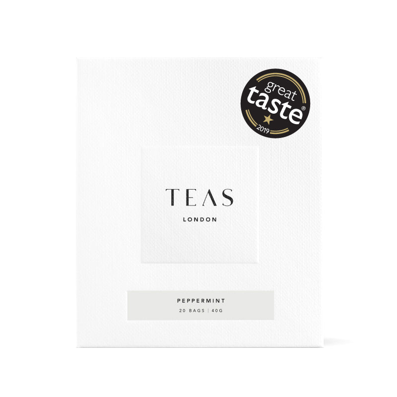 TEAS London UK - Peppermint Herbal Infusion Box