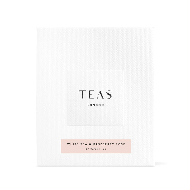 TEAS London UK - White Tea & Raspberry Rose Box