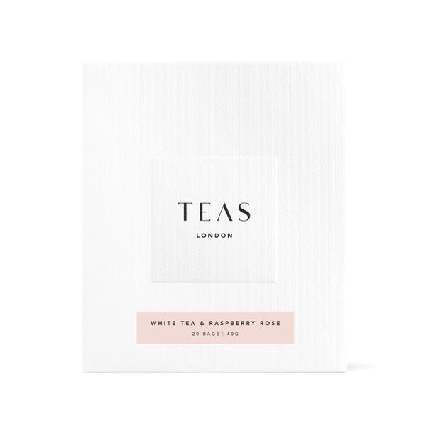 WHITE TEA & RASPBERRY ROSE - 20 Tea Bags