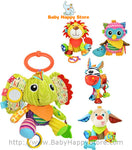 Cute Animal Teether Plush Dolls